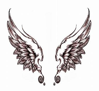 Wings Angel Wing Clip Dark Drawing Clipart