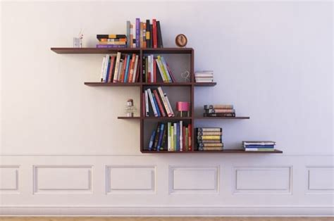 Wall Hung Bookshelf by Bookshelf 12 Wall Hung 3d Model