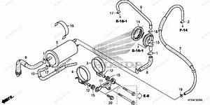 Honda Motorcycle 2008 Oem Parts Diagram For Evap Canister