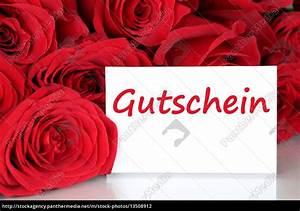 Valentinstag Geschenke Auf Rechnung : karte mit gutschein geschenk zum geburtstag lizenzfreies foto 13508912 bildagentur ~ Themetempest.com Abrechnung