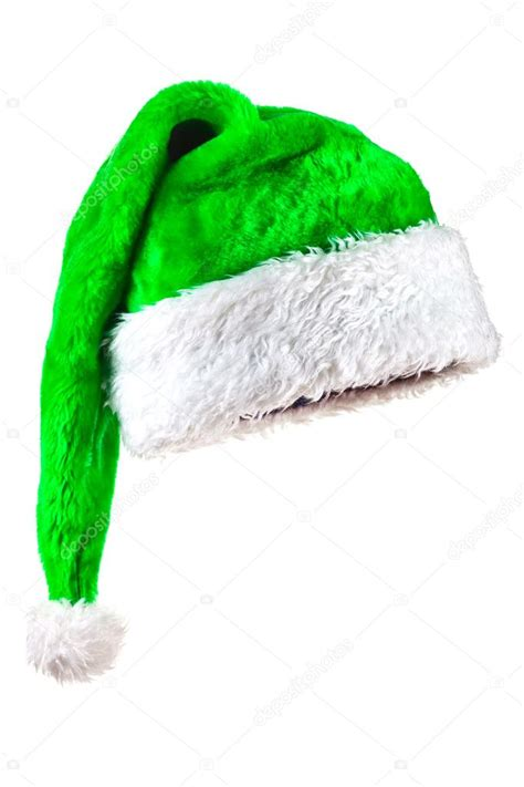 how to make a green christmas hat green magic santa hat stock photo 169 fotofermer 3876450
