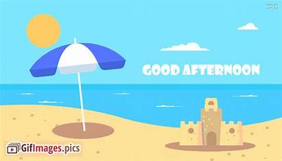 Afternoon Animated Beach Clipart Quotes English