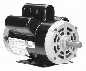 Century B813 Air Compr Motor 5 Hp 3450 Rpm 230v 56hz For
