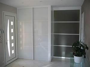 placard entree design With porte d entrée pvc avec porte de placard salle de bain sur mesure