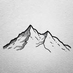Simple Mountain Drawings Photo by 25 Best Ideas About Mountain Drawing On