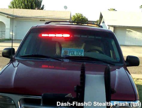 volunteer firefighter light laws dash flash stealth flash for volunteer firefighters emts