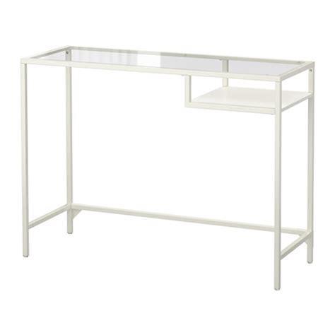 ikea small glass computer desk vittsj 214 laptop table white glass ikea