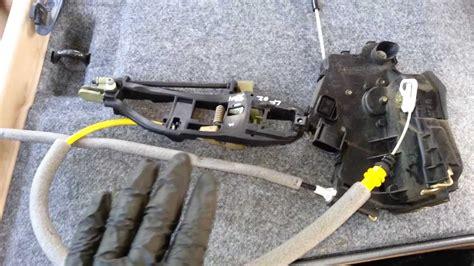 bmw e46 330i 323i 325i sedan door handle lock actuator cable diagram