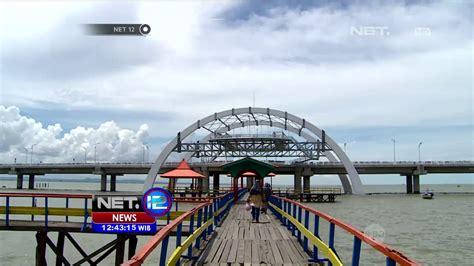 jembatan kenjeran surabaya ikon  kota surabaya net