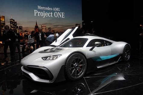 Mercedes-amg Project One Brings Formula 1 Tech To The Road