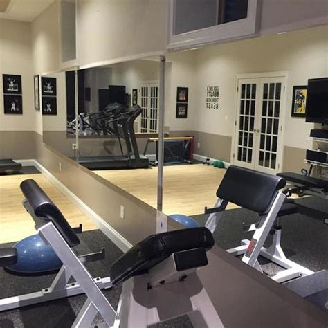 glassless gym wall mirrors gtech fitness