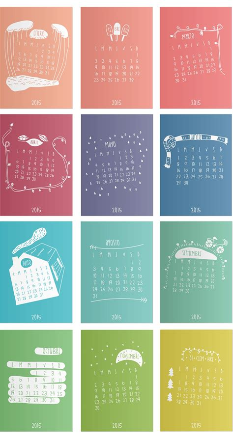 calendar print  products inspiration  ideas