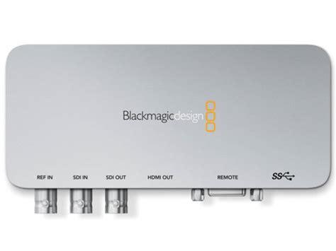 blackmagic design ultrastudio express station d acquisition blackmagic design ultrastudio express