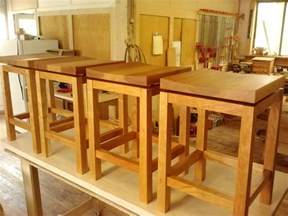 kitchen island stool height crafted kitchen island height cherry bar stools by infusion furniture custommade