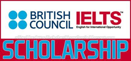 british council ielts scholarship   degree master