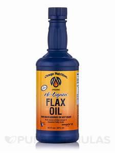 Hi Lignan® Flax Oil (Organic) - 16 fl. oz (473 ml)