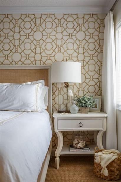 Bedroom Master Statement Wallpapers Amanda Revive Lattice