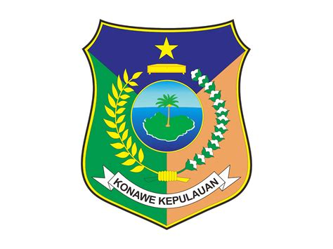kabupaten kepulauan konawe  vector logo cdr ai eps