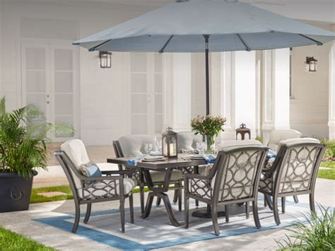 cheap white dining table and chairs patio furniture the home depot