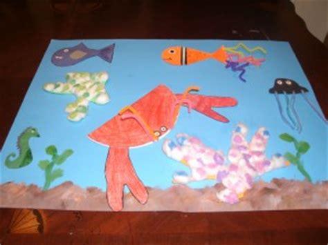 crab craft idea  kids crafts  worksheets