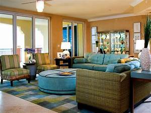 modern furniture tropical living room decorating ideas With light blue paint for tropical home design