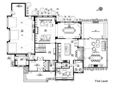 modern contemporary house plans modern house floor plans cottage house plans
