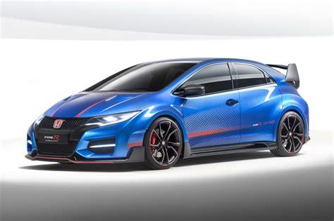 New Honda Civic Type R Concept Unveiled Gtspirit