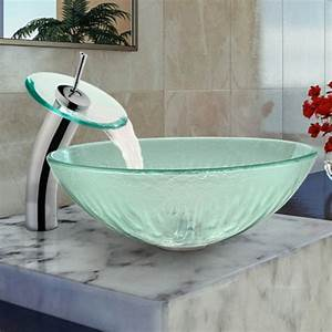 Vasque En Verre : le robinet cascade en 70 photos ~ Melissatoandfro.com Idées de Décoration