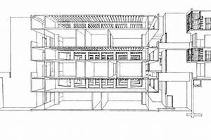 Salk Institute Structural Perspective Section of ...