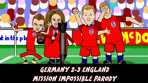 mission impossible  germany  england  cartoon