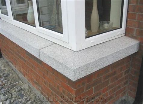 Granite G603 Window Sill Installation From China