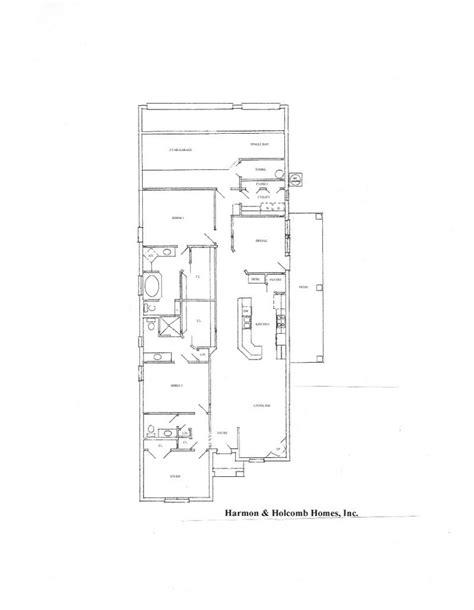 floor plans zero lot line floorplans 171 harmon and holcomb homes