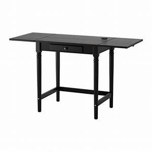 Schreibtisch Schwarz Ikea : ingatorp schreibtisch schwarz ikea ~ Indierocktalk.com Haus und Dekorationen