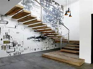 Mur deco street art pour sublimer la cage d39escalier for Deco mur escalier