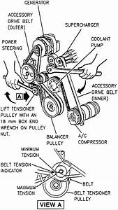 How Do You Install Serpentine Belt On A 1994 Pontiac Bonneville Supercharger