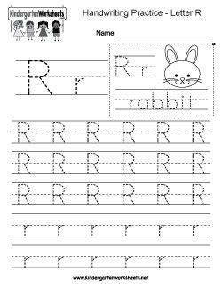 letter r worksheets free kindergarten writing worksheets learning to write 30447