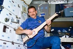 Chris Hadfield, commander of the International Space ...