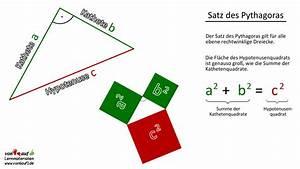 Satz Des Pythagoras Kathete Berechnen : deine kostenlose lernplattform zum fach mathematik ~ Themetempest.com Abrechnung