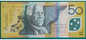 2013 Australia Fifty Dollars Banknote FK13157393