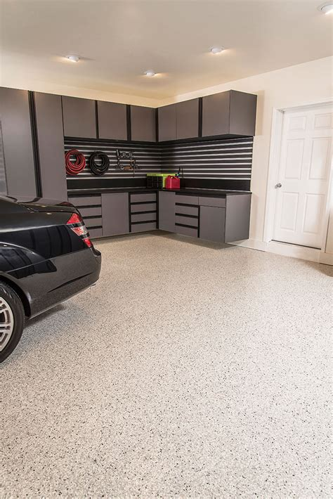 epoxy flooring garage floor coatings garageexperts of low country south carolina