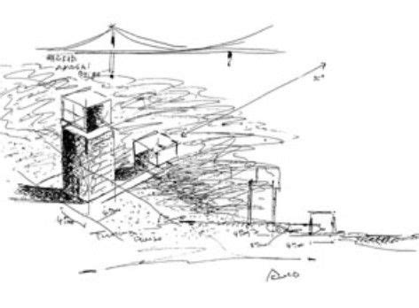 tadao ando 4x4 house architecture sketches architecture sketch tadao o house sketch