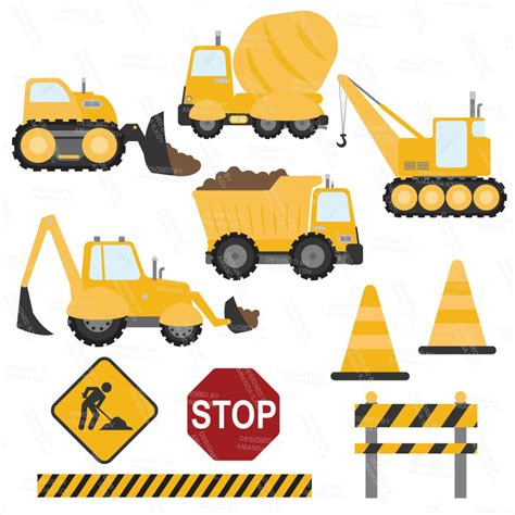 Construction Clip Construction Truck Clipart Clipground