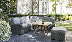 amenager un salon de jardin bas pour s39y detendre With superb decoration de jardin exterieur 9 deco salon moderne photos