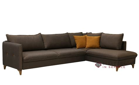Sectional Sofa Sleepers On Sale by Customize And Personalize Pepper Chaise Sectional Fabric
