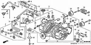 2008 Honda Pilot Engine Diagram