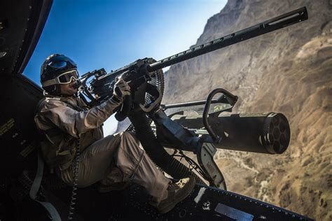 Take A Seat Next To A Huey Helicopter Door Gunner On A