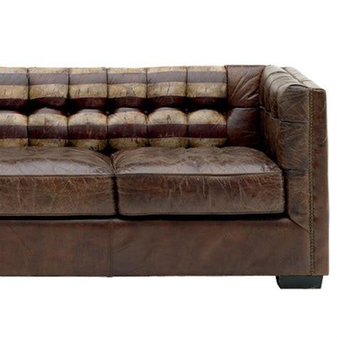 canape en photos canapé en cuir vieilli
