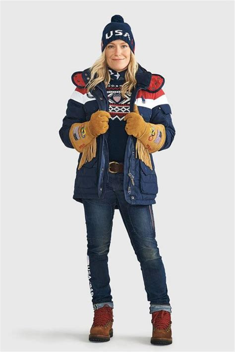 USA Olympic Outfits by Nike and Ralph Lauren feature warmth and the west (Photos) | 2018 Winter ...