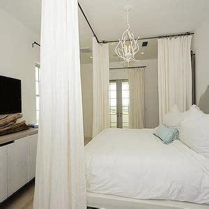 ceiling mount curtain rods ideas  pinterest