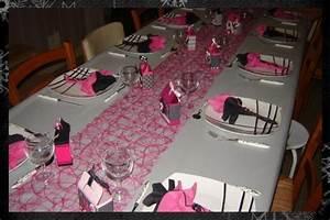 Deco Table Rose Et Gris : deco de table quand mimi cr e le blog de mimi ~ Melissatoandfro.com Idées de Décoration